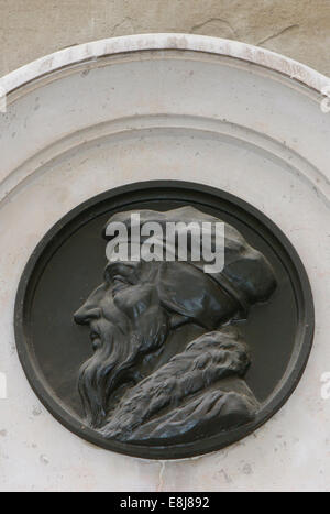 John Calvin - French reformer and theologian - Stock Photo