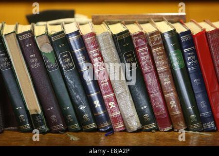 Don Isaac Abravanel synagogue. Books - Stock Photo