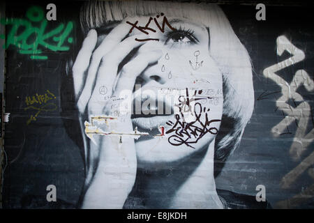 Street art. Graffiti. - Stock Photo