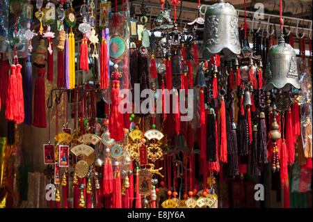 Wong Tai Sin temple, Kowloon. Hong Kong, China - Stock Photo
