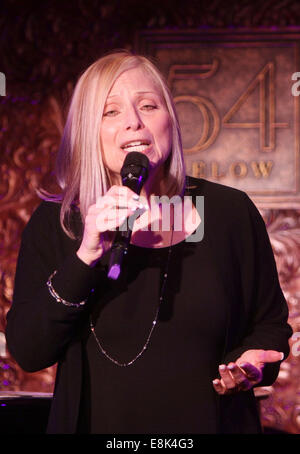 Press Preview of Concerts at 54 Below nightclub.  Featuring: Roslyn Kind Where: New York, New York, United States - Stock Photo