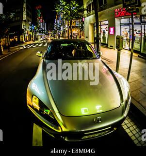 Honda S2000 on the streets of Tokyo, Japan. - Stock Photo