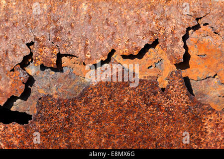 Rusty iron parts - Stock Photo