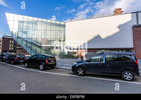 'Theatre Le Manege' theater in new and old buildings, central point for the Capital of Culture 2015, - Stock Photo