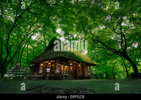 Mizuya Chaya Tea House in Nara, Japan - Stock Photo