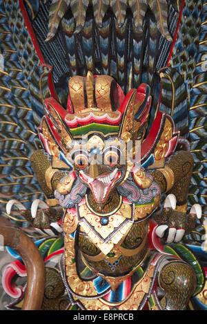 Bird statue Peliaton Palace Ubud Bali Indonesia - Stock Photo