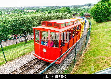 Hill train at Legoland Windsor Resort, Windsor, London, England, United Kingdom. - Stock Photo
