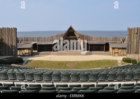 The Waterside Theater used for the Lost Colony Play - Stock Photo