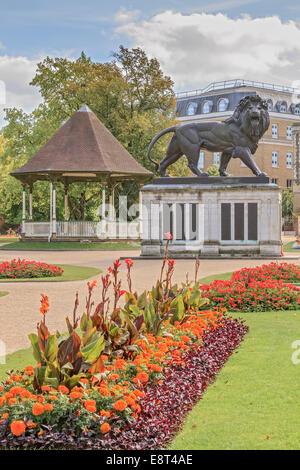Forbury Gardens Reading Berkshire UK - Stock Photo