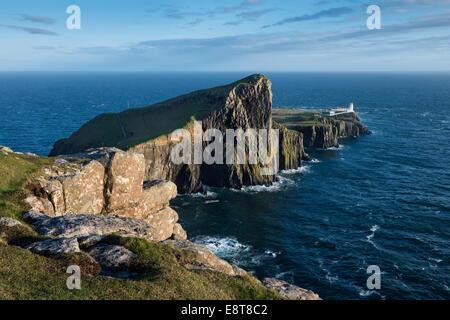 Neist Point, Isle of Skye, Scotland, United Kingdom - Stock Photo