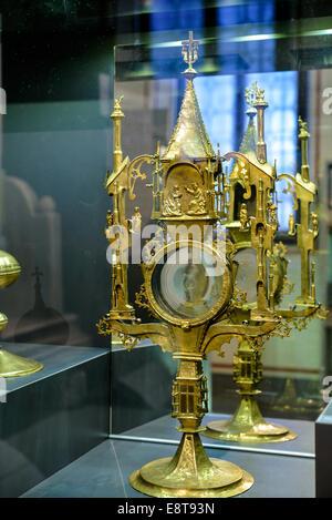 Italia Friuli V.G. Cividale  Duomo di Santa Maria Assunta  Museo Cristiano-Tesoro del Duomo. Oggetto di oreficeria sacra | Italy Stock Photo