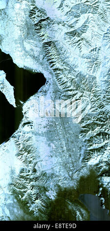 Salt Lake City, Utah, Winter 2001  The 2002 Winter Olympics are hosted by Salt Lake City at several venues within - Stock Photo