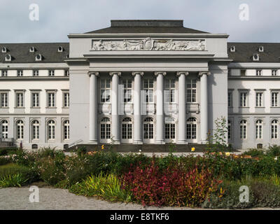 Front facade Kurfurstfiches Schloss- Electoral Palace former home of Archbishop of Trier Koblenz Germany EU in this - Stock Photo