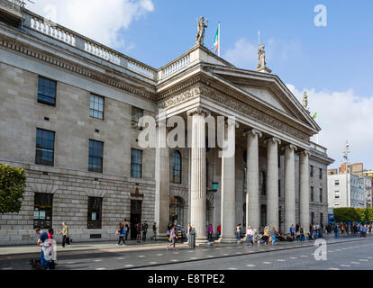 General Post Office on O'Connell Street, republican headquarters during the Easter Rising of 1916, Dublin, Republic - Stock Photo