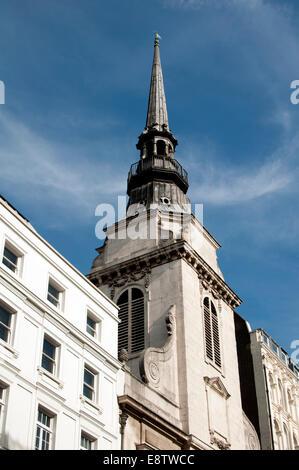 St. Martin within Ludgate Church, London, UK - Stock Photo
