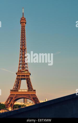 Eiffel diagonal - Stock Photo