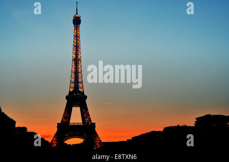 Incandescent tower - Stock Photo