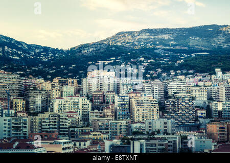 The other side of Monte Carlo - Stock Photo