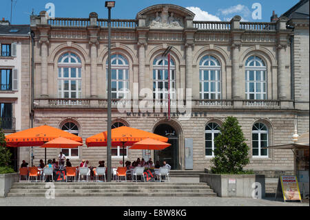 Musee des Beaux-Arts, Quimper, Brittany, France - Stock Photo