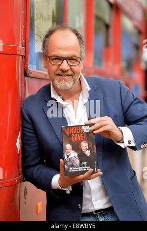 Marek Erhardt At The 66th Frankfurt Book Fair In