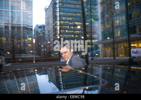 FILE PIX: London, UK. 15th Jan, 2009. Helge Lund resigns, Canary Wharf, London, UK This morning Statoil President - Stock Photo