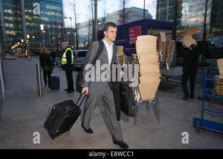 FILE PIX: London, UK. 15th Jan, 2009. Helge Lund resigns, London, UK This morning Statoil President and CEO Helge - Stock Photo