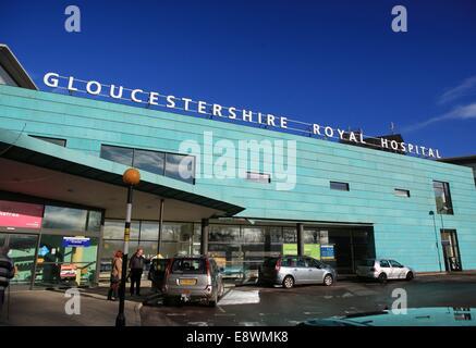 Gloucestershire Royal Infirmary - Stock Photo