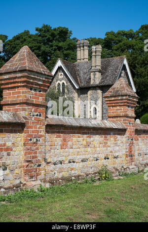 Hadleigh Town cemetery, Suffolk, England, UK - Stock Photo