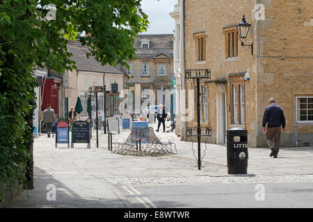Men walking in the Coppins, Corsham, Wiltshire, England, UK. - Stock Photo