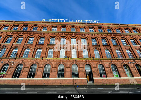 Stock Photo - Former 19th century red brick shirt factory, Derry, Londonderry, Northern Ireland. ©George Sweeney - Stock Photo