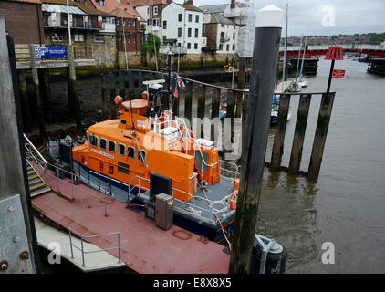 Whitby Lifeboat - Stock Photo