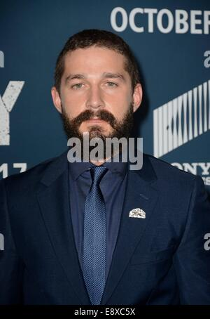 Washington, DC, USA. 15th Oct, 2014. at arrivals for FURY Premiere, Newseum, Washington, DC October 15, 2014. Credit: - Stock Photo