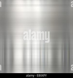brushed metal - Stock Photo