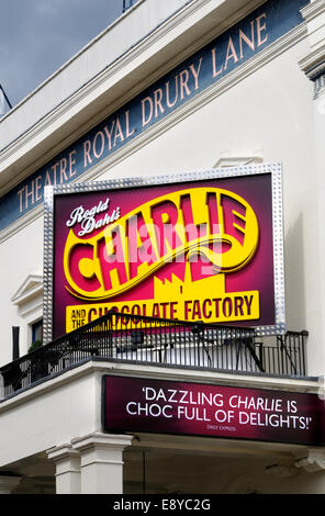 London, England, UK. Charlie and the Chocolate Factory at the Theatre Royal, Drury Lane. - Stock Photo