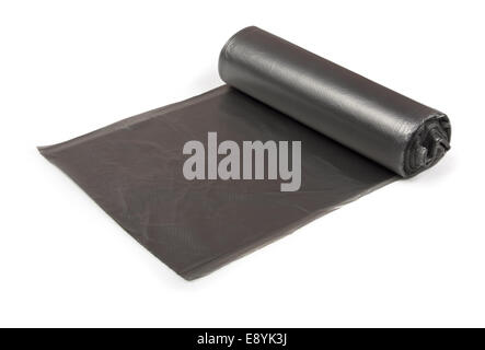 Roll of garbage bags - Stock Photo