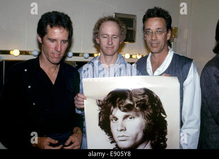 in 1984 the remaining members of The Doors John Densmore Robby Krieger and Ray  sc 1 st  Alamy & Ray Manzarek. Ray Manzarek and Robby Krieger of The Doors perform in ...
