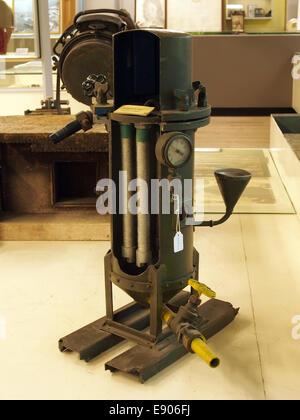 Opengewerkt model van een Stellar filter, Geniemuseum, Vught, foto 3 - Stock Photo