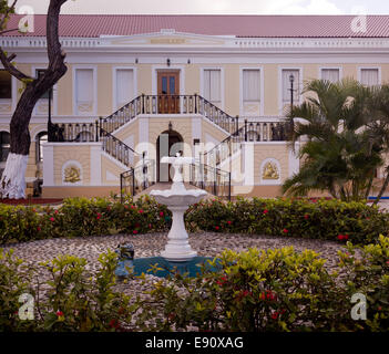 Legislative Building in St Thomas - Stock Photo