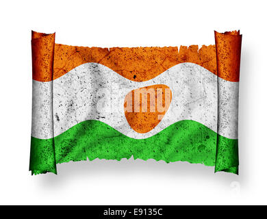 Flag of Niger - Stock Photo