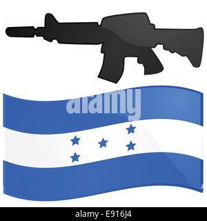 Honduras war - Stock Photo