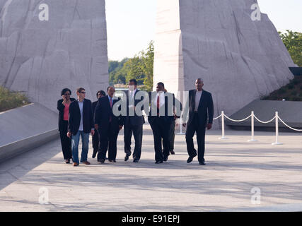 Martin Luther King Monument DC - Stock Photo