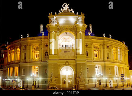 Odessa Opera and Ballet Theater - Stock Photo