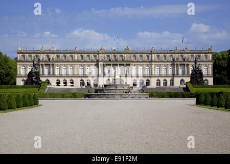 Herrenchiemsee Bavaria Germany - Stock Photo