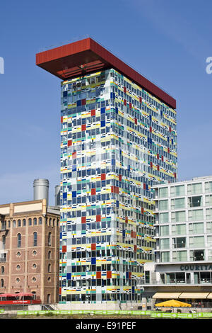 The Colorium in Duesseldorf, Germany - Stock Photo