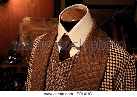 masculine tweeds - Stock Photo