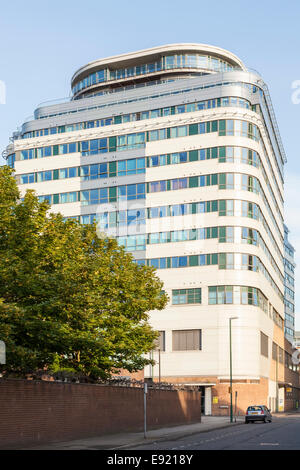 Modern apartments in Nottingham city centre Stock Photo ...