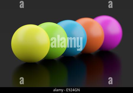 3d Spheres - Stock Photo