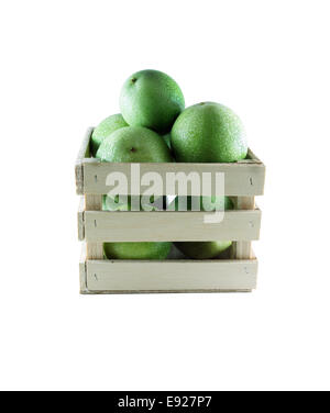 Green Pomegranate - Stock Photo