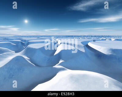 north pole - Stock Photo