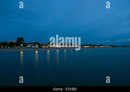 Morning spirit in Dahme, Baltic Sea, Germany - Stock Photo